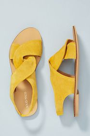 Anthropologie Klub Nico Twisted Sandals