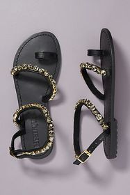 Anthropologie Mystique Embellished Sandals