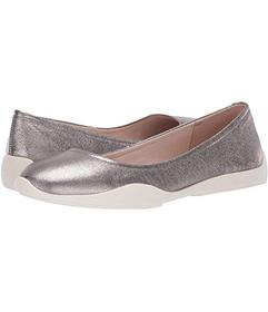 Kenneth Cole New York Pewter Metallic Leather