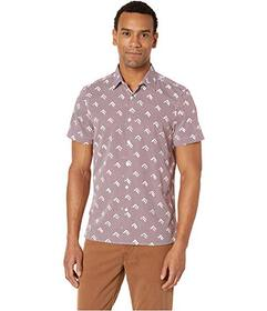 Perry Ellis Slim Fit Arrow Print Shirt
