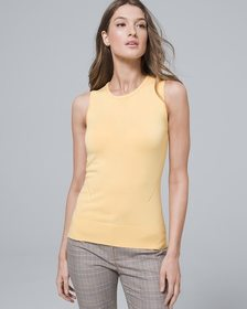 Bow-Detail Sweater Tank