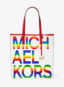 Michael Kors The Michael Large Graphic Logo Print