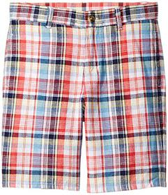 Janie and Jack Linen Flat Front Shorts (Toddler\u0