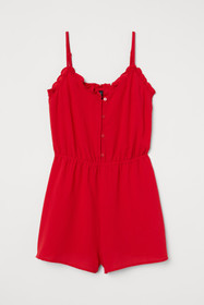 Ruffle-trimmed Jumpsuit