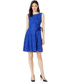 Tahari by ASL Stretch Lace Fit & Flare Dress
