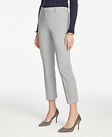 The Tall Ankle Pant in Graph Check - Curvy Fit