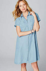 Tencel™ Indigo Shirtdress