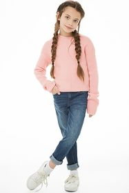 Forever21 Girls Brushed Knit Sweater (Kids)