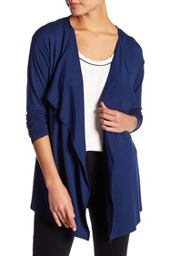 Vince Camuto Open Front Cardigan (Petite)