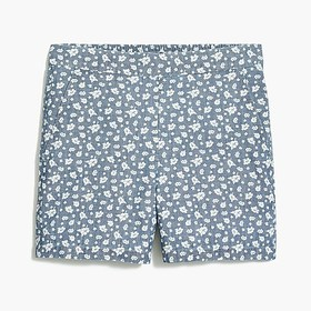 """J. Crew Factory Printed 4"""" pull-on utility short"""