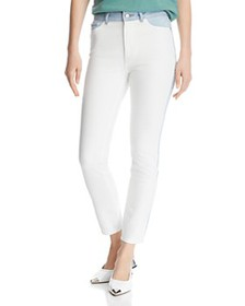 DL1961 - Farrow Color-Block High-Rise Ankle Skinny