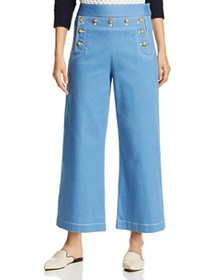 Tory Burch - Ankle Sailor Jeans in Rinse