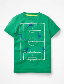 Boden Sporty Graphic T-shirt