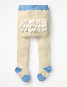 Boden Ruffle Tights
