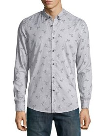 Antony Morato Men's Slim-Fit Cocktail-Print Sport