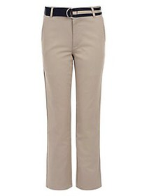Nautica Little Boy's Twill D-Belt Pants KHAKI