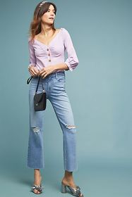 Anthropologie Paige Atley High-Rise Flare Jeans