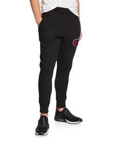 Champion Men's Reverse Weave Logo Patch Jogger Pan