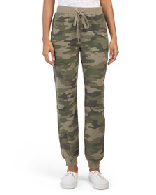 VINCE CAMUTO Camo French Terry Jogger Pants