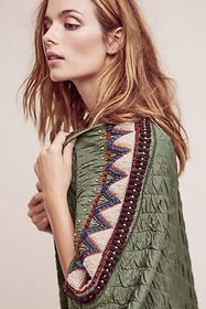 Anthropologie Quilted Kerviona Jacket