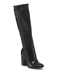 CHARLES DAVID Made In Italy Leather Knee High Boot