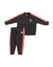 REEBOK Infant Boys 2pc Warm Up Tracksuit Set