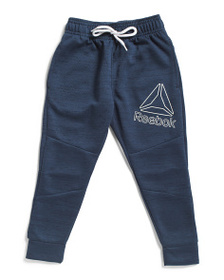 REEBOK Little Boys Fit Tech Joggers