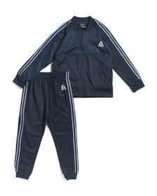 REEBOK Little Boys 2pc Warm Up Track Suit Set