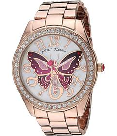 Betsey Johnson BJ00249-65 - Pink Tone Butterfly