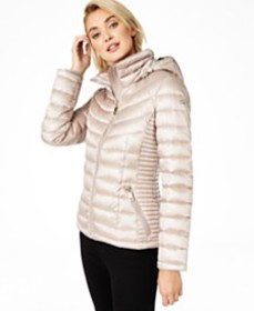 Calvin Klein Packable Down Puffer Coat, Created fo