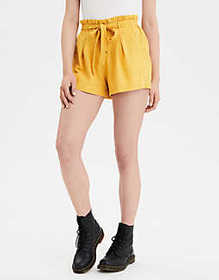 American Eagle AE High-Waisted Button Front Runner