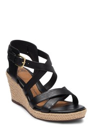 Sofft Inez Buckle Wedge Sandal