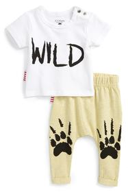 SOOKIBABY Wild T-Shirt & Leggings Set (Baby & Todd