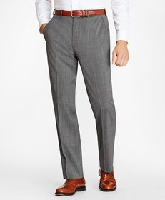 Brooks Brothers Madison Fit BrooksCool® Check Trou