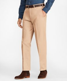 Brooks Brothers Regent Fit Cotton Stretch Trousers