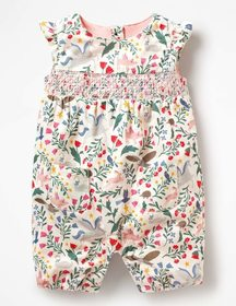 Boden Hedgehog Friends Romper