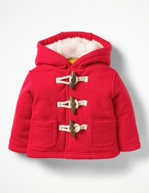 Boden Shaggy-lined Duffle Coat