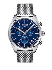 Tissot T-Classic Stainless Steel Chronograph Brace