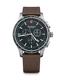 Victorinox Swiss Army Alliance Sport Leather Strap