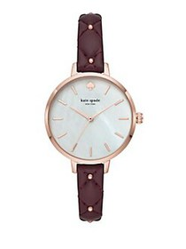 Kate Spade New York Metro Quilted Leather-Strap Wa