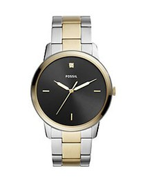 Fossil The Minimalist Carbon Series Three-Hand Two