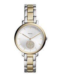 Fossil Jacqueline Chronograph Two-Tone Stainless S