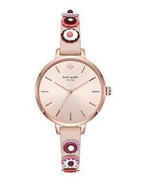 Kate Spade New York Metro Stainless Steel Floral L