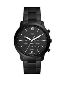 Fossil Neutra Chronograph Black Stainless Steel Wa