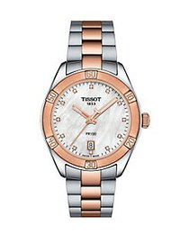 Tissot T-Classic PR 100 Sport Chic Stainless Steel