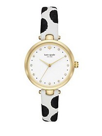 Kate Spade New York Holland Dotted Leather-Strap W
