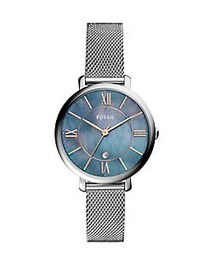 Fossil Jacqueline Three-Hand Date Stainless Steel