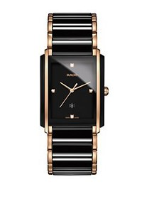 Rado Integral Diamond Studded Analog Bracelet Watc