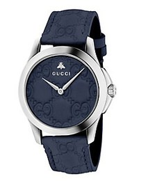 Gucci G-Timeless Stainless Steel Watch BLUE