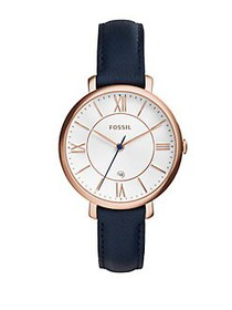 Fossil Jacqueline Rose Goldtone Stainless Steel Le